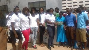 GIS gives to school for the blind