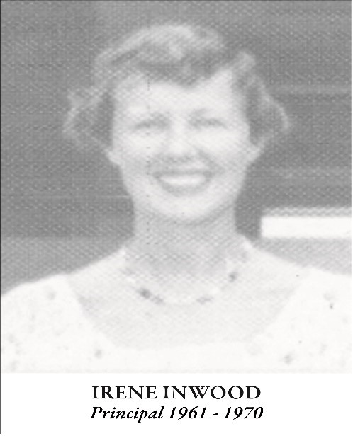 Mrs Irene Inwood, Principal of GIS from 1961 – 1970 passes on