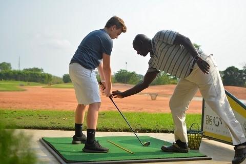 Ghana International School Launches Golf Programme at Achimota Golf Club