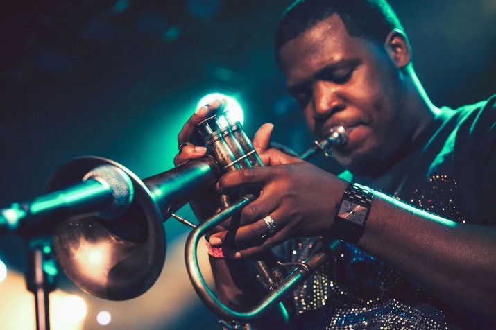 Keyon Harrold, One Of The Most Reputable Sought-after, Emotionally Electric Young Trumpeters On The Scene Visits Ghana International School