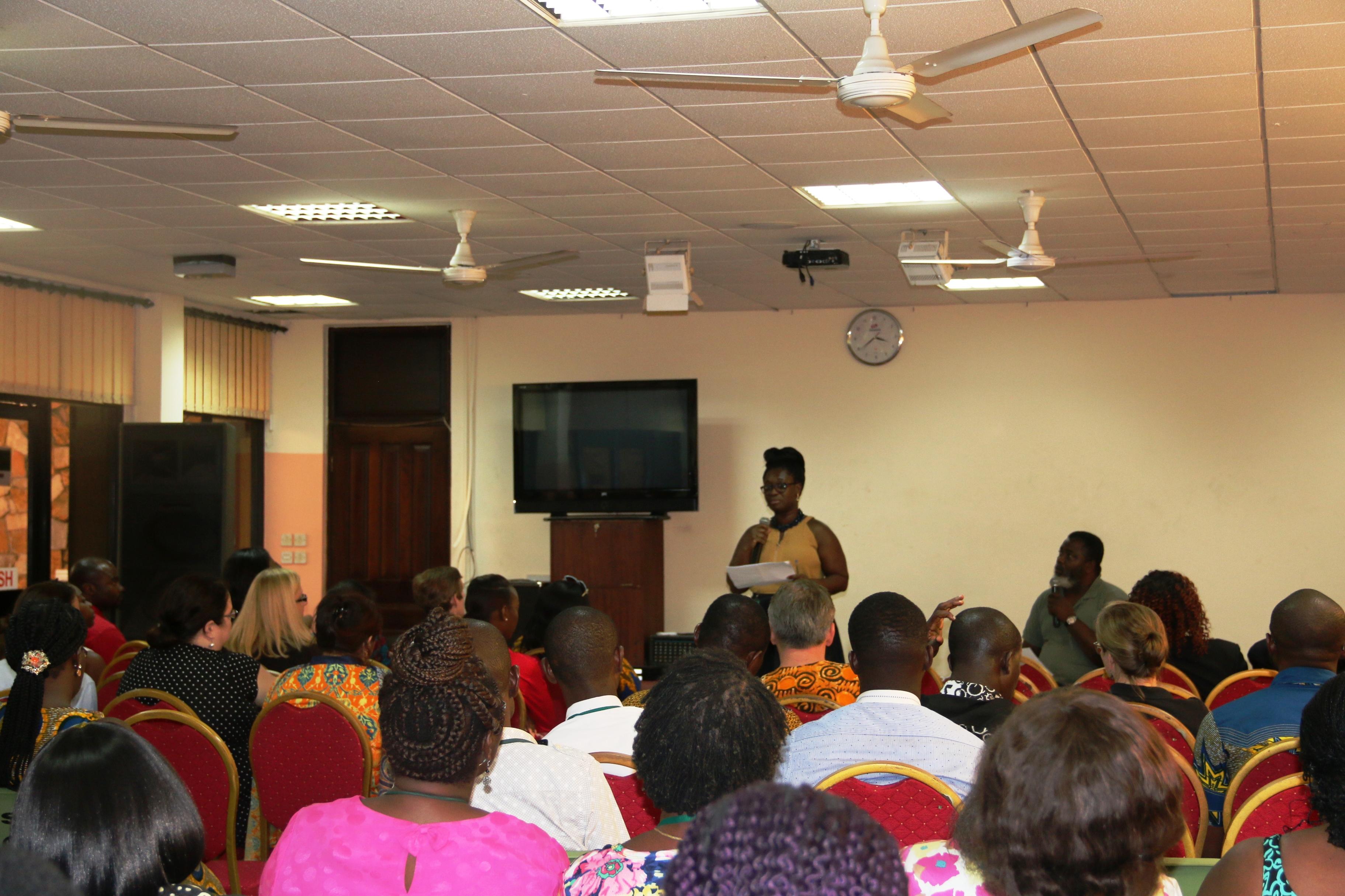 GIS Senior Staff Welfare Association (SSWA) Host Town Hall Meeting