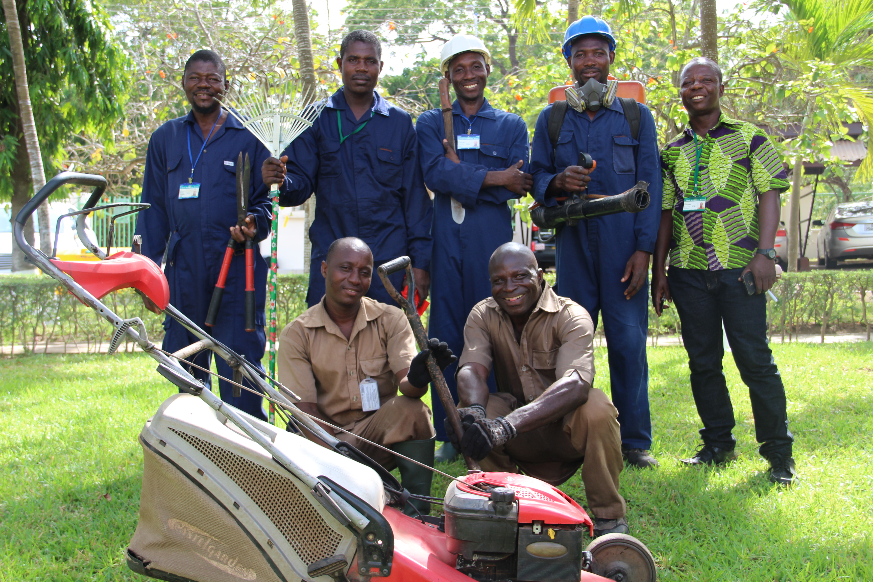 Ayekoo to our amazing Gardeners