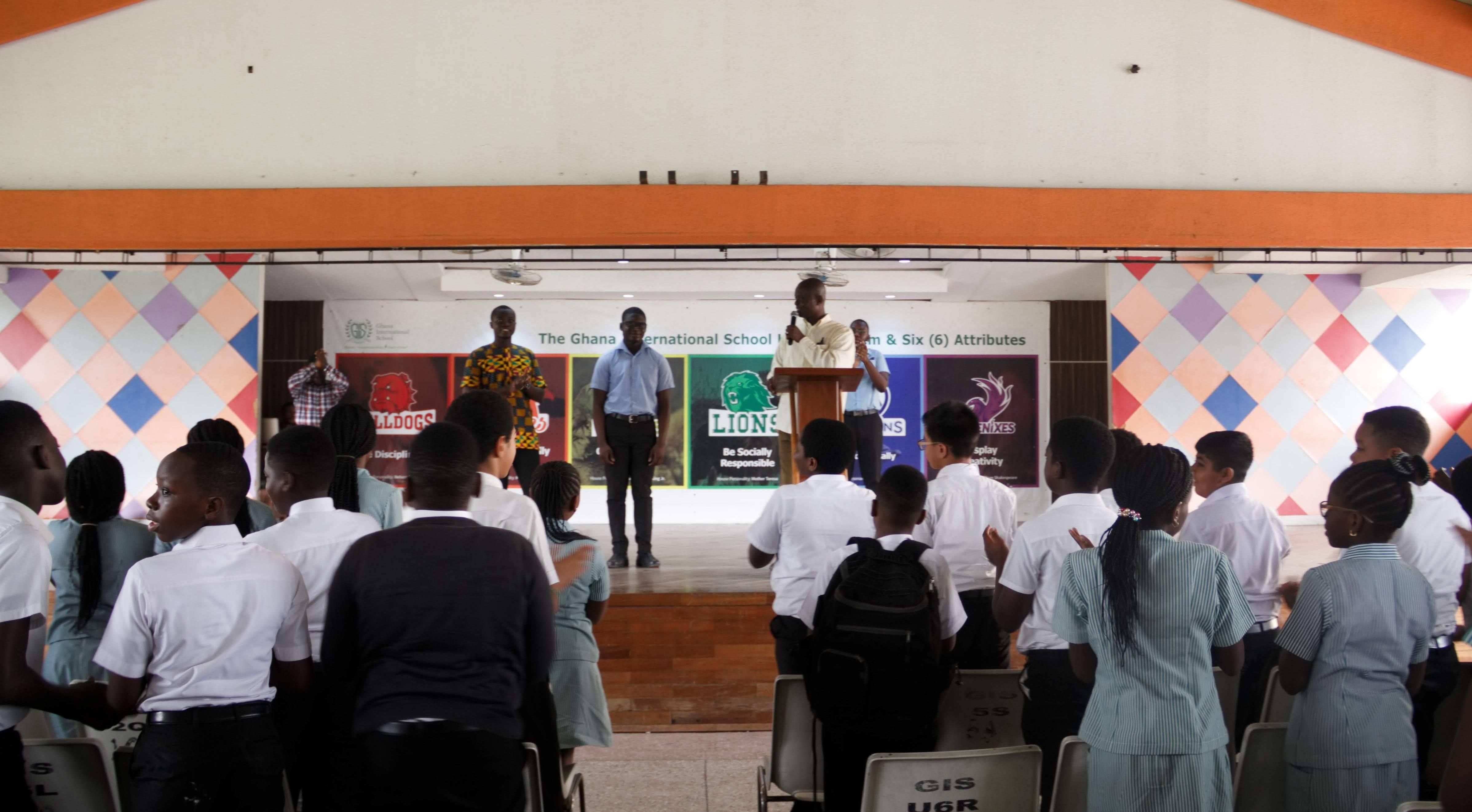 Nii Aryee Aryeetey wins 2018 Math Olympiad - GIS
