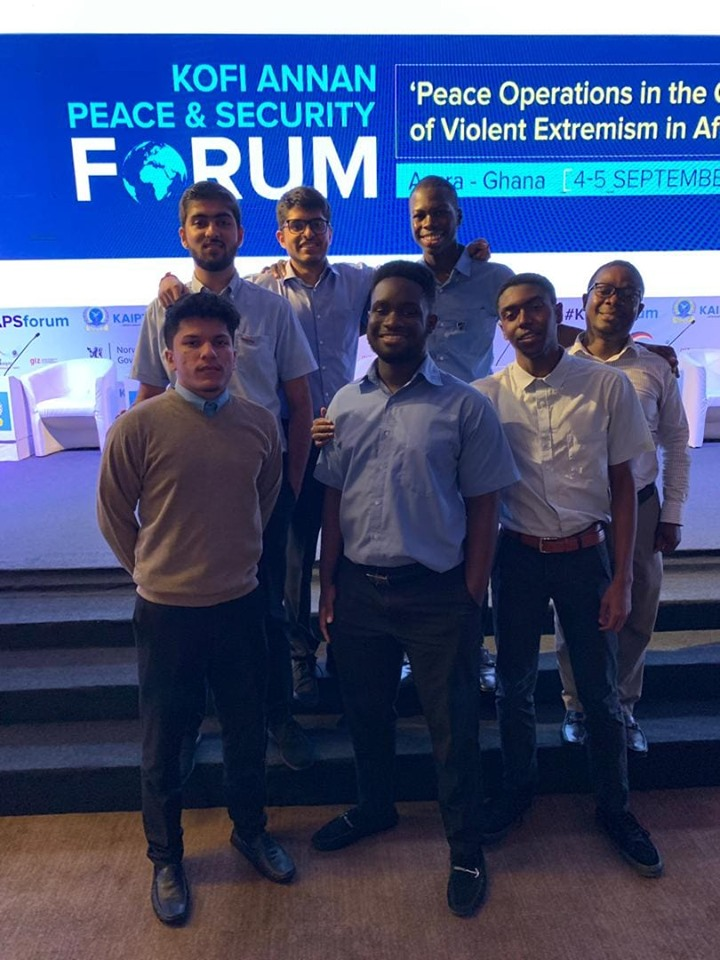 Upper Sixth Form students attend Kofi Annan Peace and Security Forum