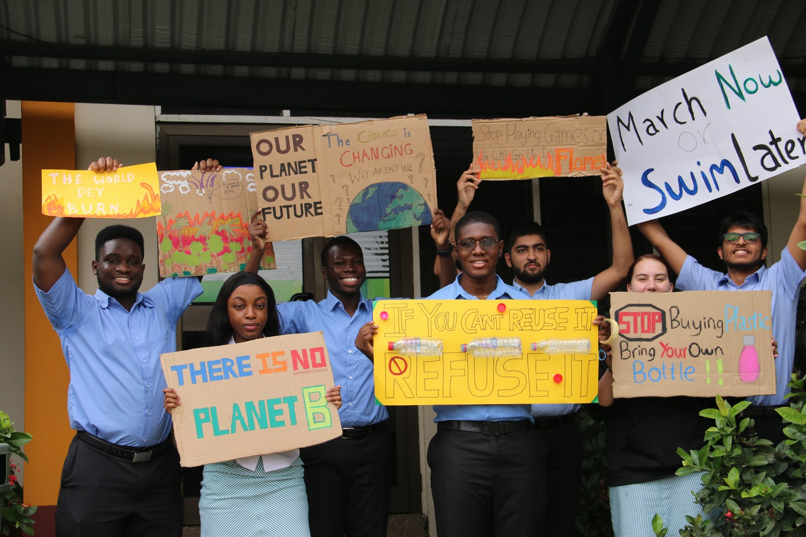 GIS Marks Global Climate Strike Day