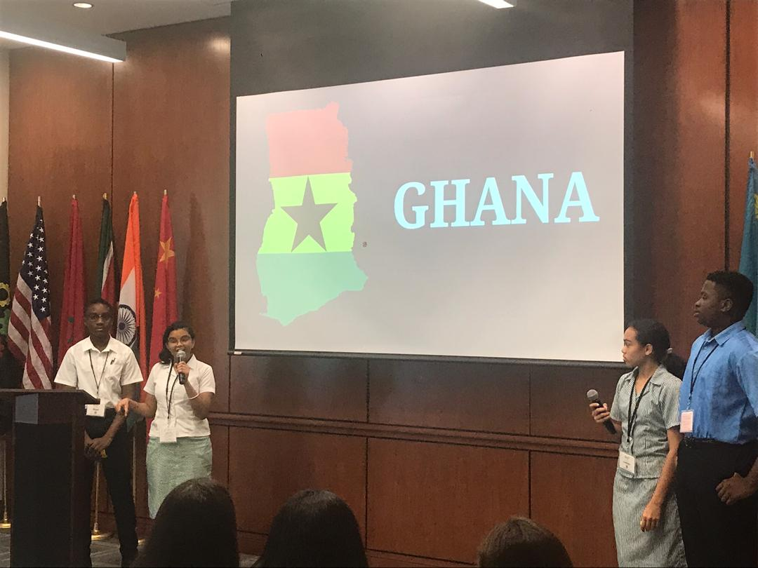 Students participate in the 9th Annual International Emerging Leaders Conference
